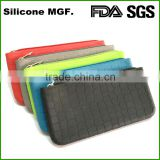 OEM&ODM Service manufacturer supplier personalized silicone pencil case jeans