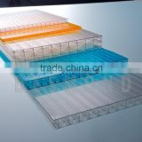 Desmond 6mm polycarbonate multi-wall sheet top quality colored 10 years guarantee High impact strength