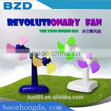 New Best Gift Promotional Product Items / Double Engine Motors Revolutionary USB Mini Revolving Fan