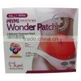 2016 Hot sale Beauty Care Products Wonder Patch Abdomen treatment patch for Lose weight fat burning