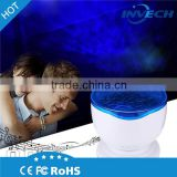 Wholesale Led Smart ABS Night Light Projection Device Beauty Ocean Sea Wave Projector with music