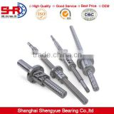 Small ball lead screw with copper nut linear bearing stepper motor used SFU1610-T3 ball screw
