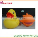 whosale Pvc Plastic Animal Figure Duck;Duck Pvc Animal Figure Toys, custom duck vinyl plush toy