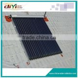 Flat plate heater solar collector