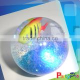 2014 Hot Sale Christmas Led Light Balls Novelty Crystal Floating Water Ball