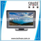 SPD59 4.3Inch TFT Car LCD Monitor Mirror with Reverse Rear View Backup CMOS Camera for Car Reversing Record