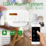Cheapest wireless security alarm system GS-S2G from golden security & anti-theft wireless alarm system with camera