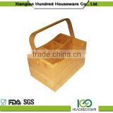 Trading & supplier of China products Bamboo flatware caddy