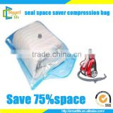 home storage vacuum transparent zip lock bags for clothes