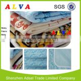 Alva Waterproof Minky Fabric Wholesale Baby Receiving Blankets Wholesale