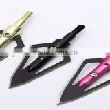 China factory all kinds of metal arrow broadheads