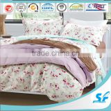 twin queen king size soft polyester cotton micro fiber comforter/patchwork goose down blanket