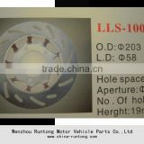 Aperture 6.5mm 125cc brake discs for CG125 motorcycle, ATV dirt bike sold by manufacturer directly made in China