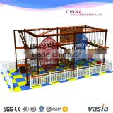 Vasia Shopping mall rope course adventure equipment for kids zone rock climbing walls                                                                                                         Supplier's Choice