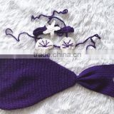 wholesale crochet baby photo props crochet mermaid tail costume
