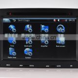 Renault megane 2 dvd player with CE/ROHS certificates