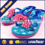 2015 New design rubber lady slipper with decorate strap ,wholesale oem fashion woman flip flop
