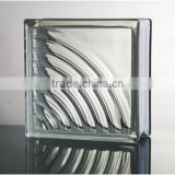best selling color brick/clear block glass                                                                         Quality Choice