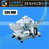 Manual meat slicer is 300mm electric meat slicer is imported blade electric meat slicer 300es-12 for CE (SY-MS300B SUNRRY)