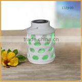 white ceramic lantern solar led rechargeable lights for garden crafts