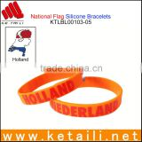 Factory Wholesale Silicone Bracelets Cheapest Silicone Bracelets Printed Logo embossed rubber band for bracelet