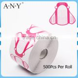 ANY 2015 Dual Full Cover Paper Nai Form Acrylic UV Gel 500 Pcs