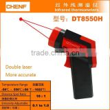 Digital display infrared laser thermometer gun with laser point Temperature Gun (-50-1600C) CE,ROHS DT8700H/8010H/8013T/8016