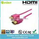 Favorites Compare High speed Slim HDMI cable with 3D Ethernet and 1080P For PS3,DVD HDTV