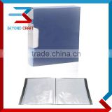 A4 size PP display book file folder 20 pockets                                                                                                         Supplier's Choice
