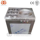Hot Selling Six Barrel Ice Cream Cold Plate Machine/Fried Ice Cream Roll Machine