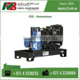 J22 Generator Diesel With Antivibration Suspension