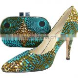 2014 ladies women shoes and matching bags made in china                                                                         Quality Choice