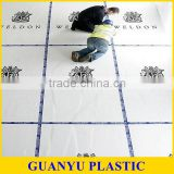 Colorful Easy Cleaned PP Plastic Sheet For Floor Protection
