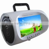 7'' portable car dvd player remote control low price with av input                                                                         Quality Choice
