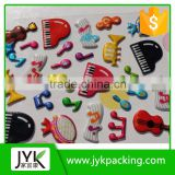Custom made 3d sticker printing puffy sticker 3d foam sticker for kids                                                                         Quality Choice