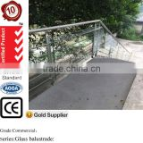 safety glass handrail 304&316 stainless steel balustrade, balcony glass fence with AS/NZS2208 certificated                                                                         Quality Choice