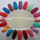 2014 factory wholesale fashion color gel nail polish Nail Painting for glitter gel hair