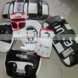 PU Leather boxing gloves / mma grappling gloves / mma gloves / cow hide material boxing gloves