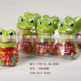 girls & boys best gift lovely cartoon animal frog with fruit flavours Jelly Beans