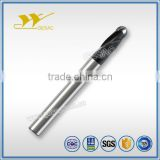 4 Flute Ballnose Unequal Flute Spacing Carbide Endmill for Titanium Alloys High Performance Machining