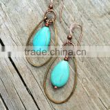 falak gems Boho Jewelry Turquoise Earring Boho Earrings Bohemian Jewelry