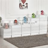 China Product Living Room Furniture Modern Design Wooden Drawer Chest/Three Drawer Cabinet