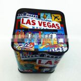 Rectangular custom money saving box tins