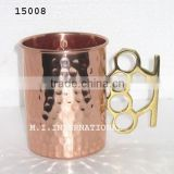 moscow mule copper mugs hammered, copper drinkware mugs