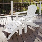 Factory outlets outdoor Furniture With Railing and White Chairs also Wooden Deck For Modern Outdoor Design