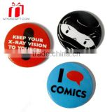 Cheap And Cute Hot Sale 38mm Tin Botton Badges For Promotion Use