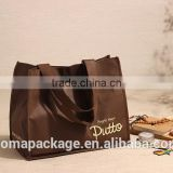 Best quality best selling shoulder silver laminated non woven bags
