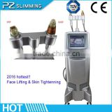 Fractional Rf And Microneedle Rf Beauty Machines With Ce Approve/ Thermagic Fractional Rf Facial Lift Beauty Equipement