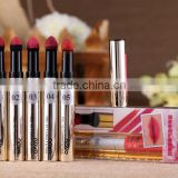 New Silky Air cushion Lipstick Novo 8colours LipBalm Lip care of Matte Waterproof Lipgloss