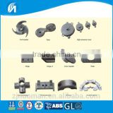 High quality stainless steel precision casting fixed gear and hinger and alloy casting